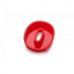 Molde Para Bolos Número 0 Vermelho - Lekue