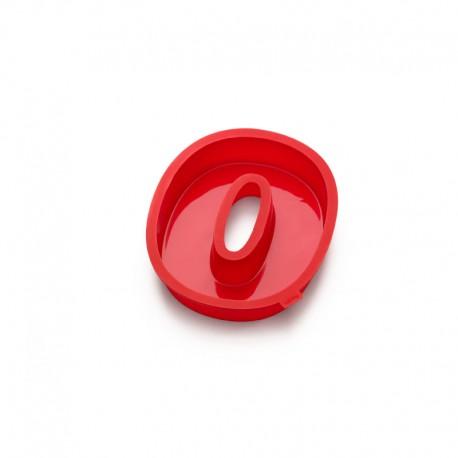 Cake Number 0 Red - Lekue LEKUE LK0214000R01M032