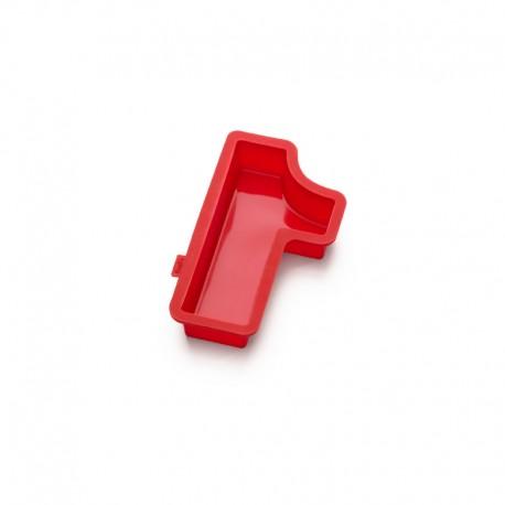 Molde Para Bolos Número 1 Vermelho - Lekue LEKUE LK0214001R01M032
