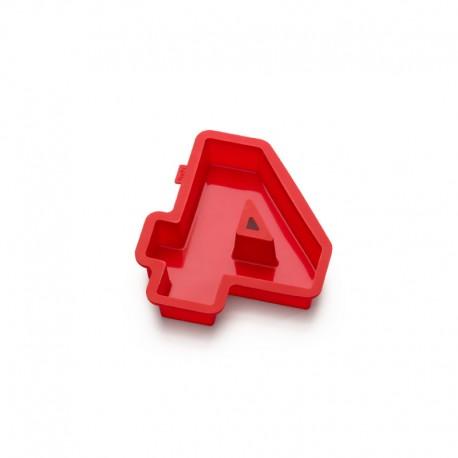 Molde Para Bolos Número 4 Vermelho - Lekue LEKUE LK0214004R01M032