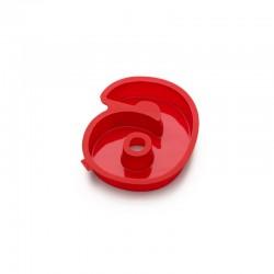 Molde Para Bolos Número 6 Vermelho - Lekue