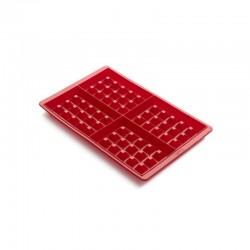 Molde Para Waffles (2Un) Vermelho - Lekue LEKUE LK0215000R01M017
