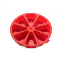 Molde 8 Porções Individuais Vermelho - Lekue