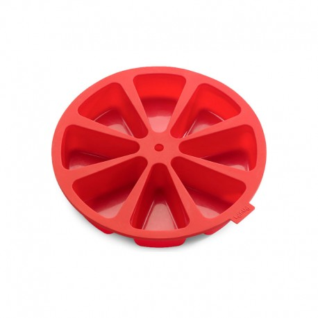 Molde 8 Porciones Rojo - Lekue  Molde 8 Porciones Rojo - Lekue