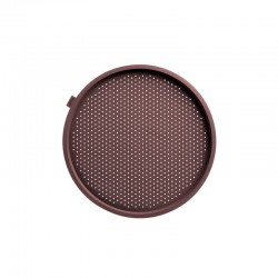 Round Pizza Mat Crunchy - 36 Cm Brown - Lekue