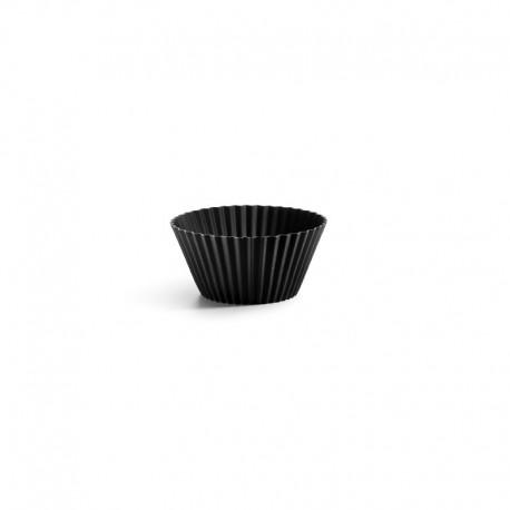 Set of 6 Muffin Cups Black - Lekue LEKUE LK0240100N01M033
