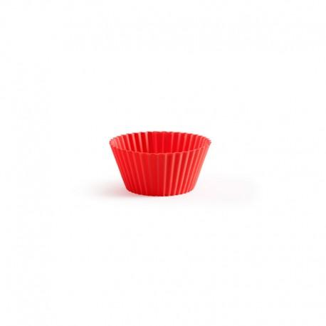 Forma Para Cupcakes (6Un) Vermelho - Lekue LEKUE LK0240100R01M033