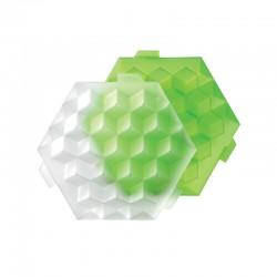Molde De Gelo - Cubos Verde - Lekue LEKUE LK0250500V05C004
