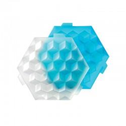 Molde De Gelo - Cubos Azul - Lekue