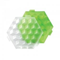 Molde De Gelo - Cubos Gigantes Verde - Lekue