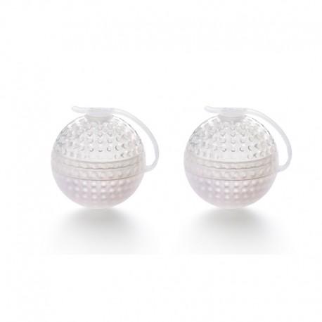 Ice Block Sphere Mold (2Un) White - Lekue LEKUE LK0251300B04C004