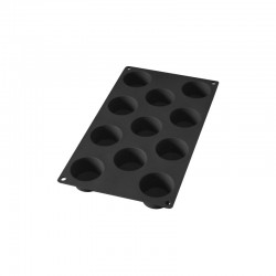 11 Mini Muffin Silicone Mould Black - Lekue