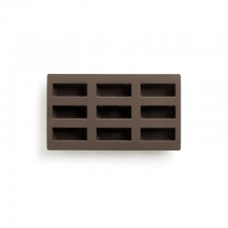 Mini Loaf Bread Mould - 9Cav Brown - Lekue