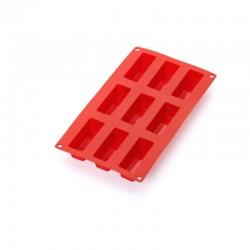 Molde para 9 Mini Cakes Rojo - Lekue