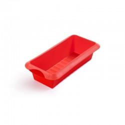 Forma De Silicone Retangular 24Cm Vermelho - Lekue