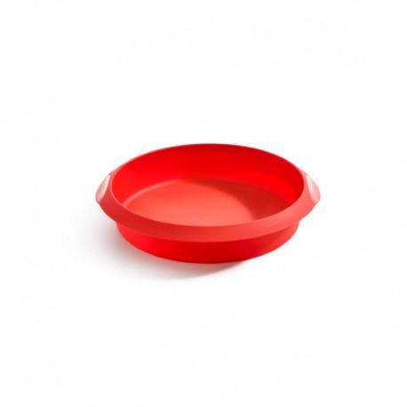 Molde De Silicone Redondo 20Cm Vermelho - Lekue LEKUE LK1210720R01M033