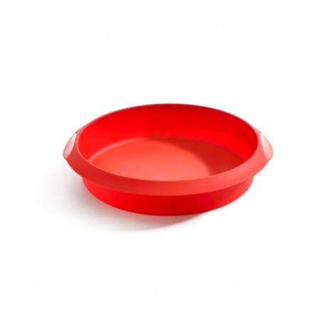 Molde De Silicone Redondo 24Cm Vermelho - Lekue LEKUE LK1210724R01M033