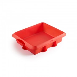 Silicone Mould For Lasagne Red - Lekue
