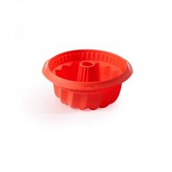 Forma Para Bolo Savarin 22Cm Vermelho - Lekue