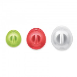 Pack 3 Suction Lids Multicolour - Lekue