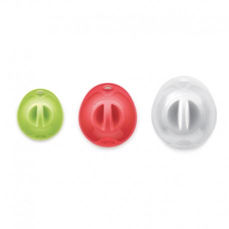 Pack 3 Suction Lids Multicolour - Lekue LEKUE LK1270530SURU002