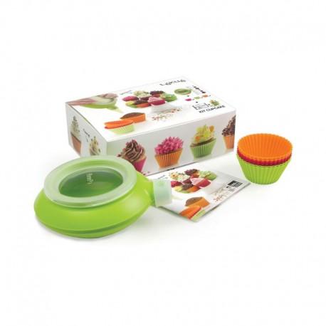Kit Cupcake Multicolour - Lekue | Kit Cupcake Multicolour - Lekue