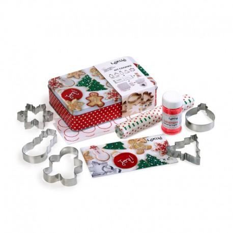 Christmas Cookies Kit Grey - Lekue   Christmas Cookies Kit Grey - Lekue