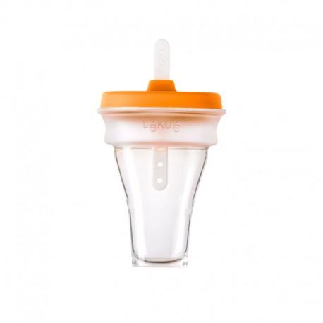 Collapsible Ice Cream Mould (1Un) Orange - Lekue | Collapsible Ice Cream Mould (1Un) Orange - Lekue