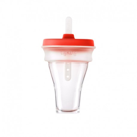 Collapsible Ice Cream Mould (1Un) Red - Lekue | Collapsible Ice Cream Mould (1Un) Red - Lekue