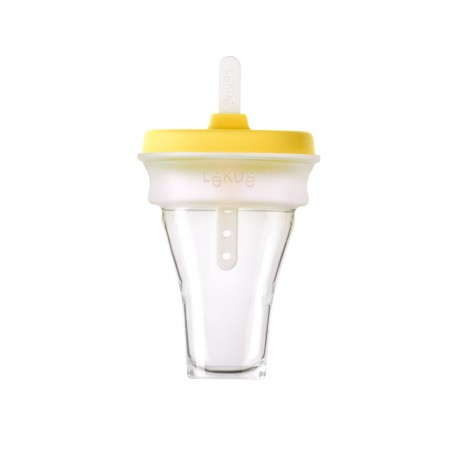 Collapsible Ice Cream Mould (1Un) Yellow - Lekue | Collapsible Ice Cream Mould (1Un) Yellow - Lekue