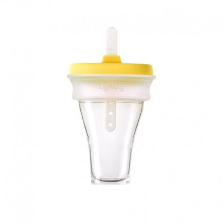 Collapsible Ice Cream Mould (1Un) Yellow - Lekue LEKUE LK3400251V30U150