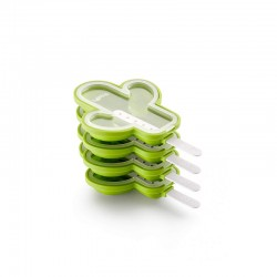 Kit Cactus Popsicles Molds (4Un) Green - Lekue