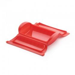 Estojo para Cozinhar a Vapor Vermelho - Steam Case - Lekue