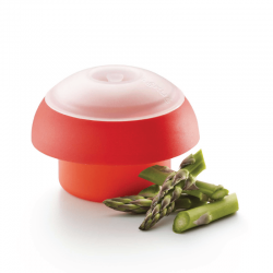 Egg Cooker Cylinder Red - Lekue