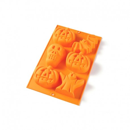Halloween 6 Shapes Orange - Lekue LEKUE LK3900106N02M048