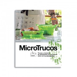 Libro De Recetas Microtrucos-Es - Lekue LEKUE LKLIB00025