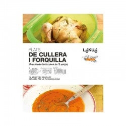 Livro De Receitas De Cuchara Y Tenedor - Catalão - Lekue