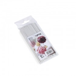50 Sticks For Cake Pops White - Lekue