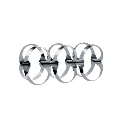 Bottle Rack - Ribbon Silver - Officina Alessi OFFICINA ALESSI OALEUNS02
