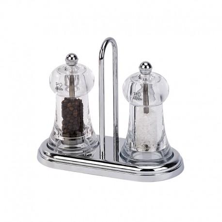 Salt And Pepper Mill Set 11cm - Brasserie Transparent - Peugeot Saveurs PEUGEOT SAVEURS PG19051