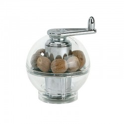 Nutmeg Mill 9cm - Tidore Transparent - Peugeot Saveurs