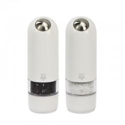 Conjunto Molinillos Eléctricos 17cm - Alaska Duo Blanco - Peugeot Saveurs