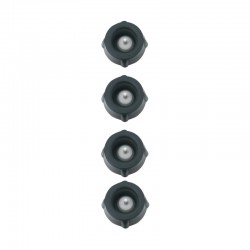Tapones para Bomba de Vacio (4X) Negro - Peugeot Saveurs