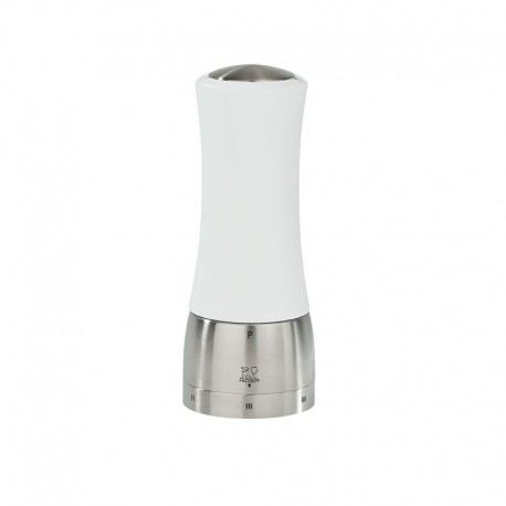 Pepper Mill 16cm - Madras U´Select White - Peugeot Saveurs | Pepper Mill 16cm - Madras U´Select White - Peugeot Saveurs