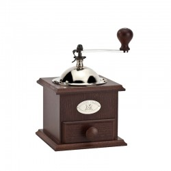 Coffee Mill 21cm - Nostalgie Walnut - Peugeot Saveurs
