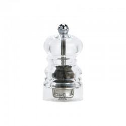 Molinillo de Pimienta 9cm - Nancy Transparente - Peugeot Saveurs