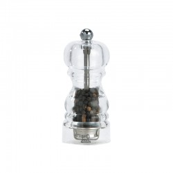 Pepper Mill 12cm - Nancy Transparent - Peugeot Saveurs