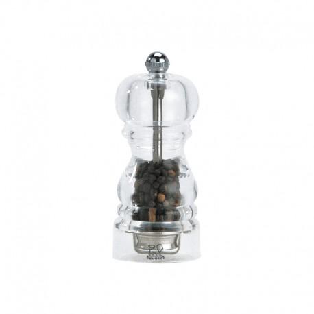 Pepper Mill 12cm - Nancy Transparent - Peugeot Saveurs   Pepper Mill 12cm - Nancy Transparent - Peugeot Saveurs