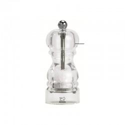 Salt Mill 12cm - Nancy Transparent - Peugeot Saveurs