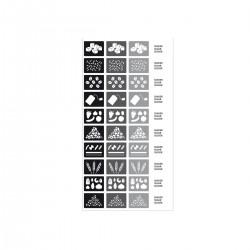 Etiquetas Autocolantes para Caixas Preto/cinza - Rig-tig